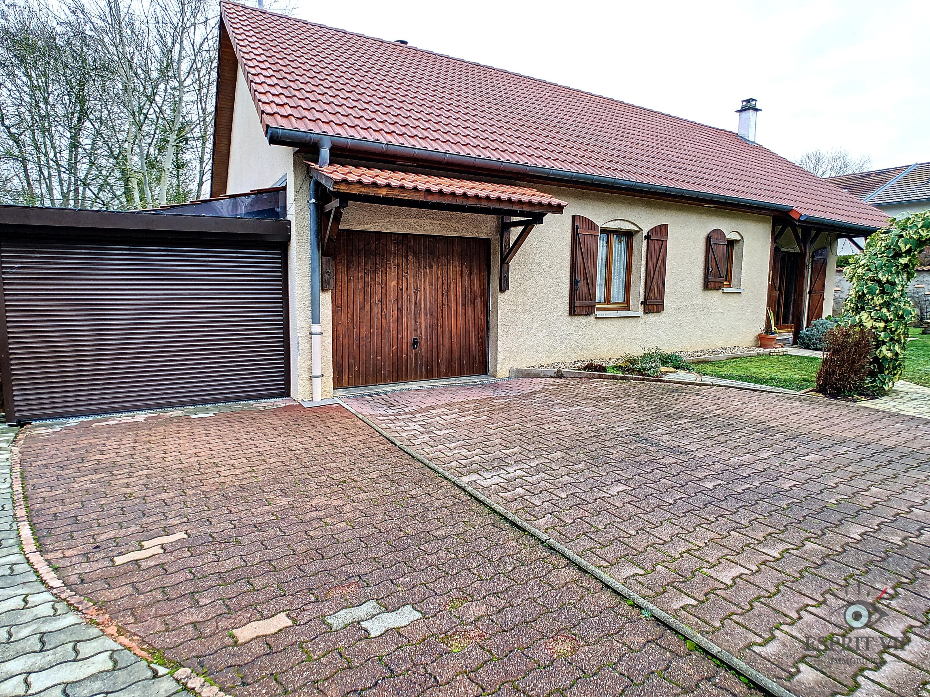 Maison plain-pied aux portes de Metz – Nouilly Lauvallières