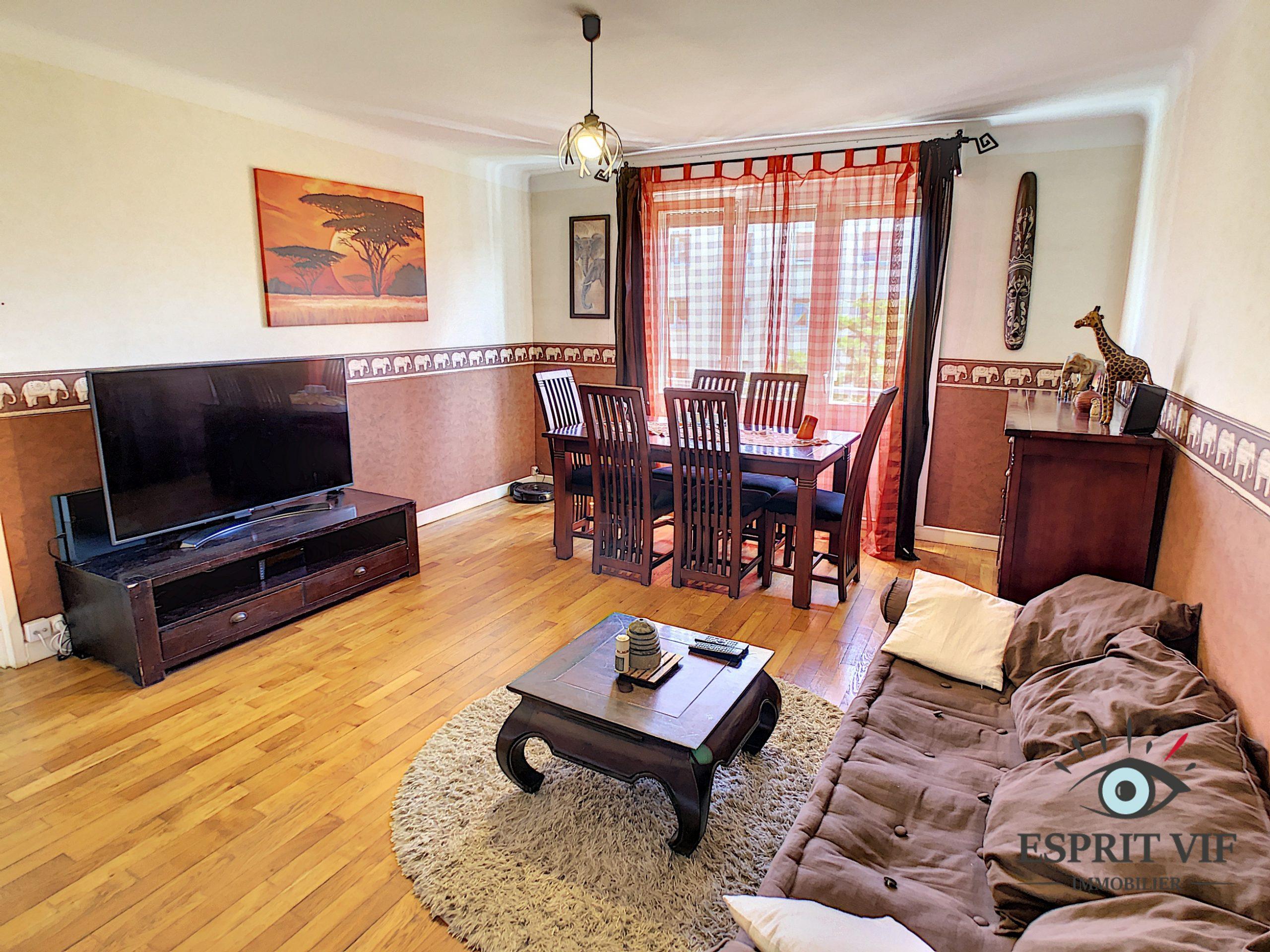 Appartement 4 pièces à Nancy